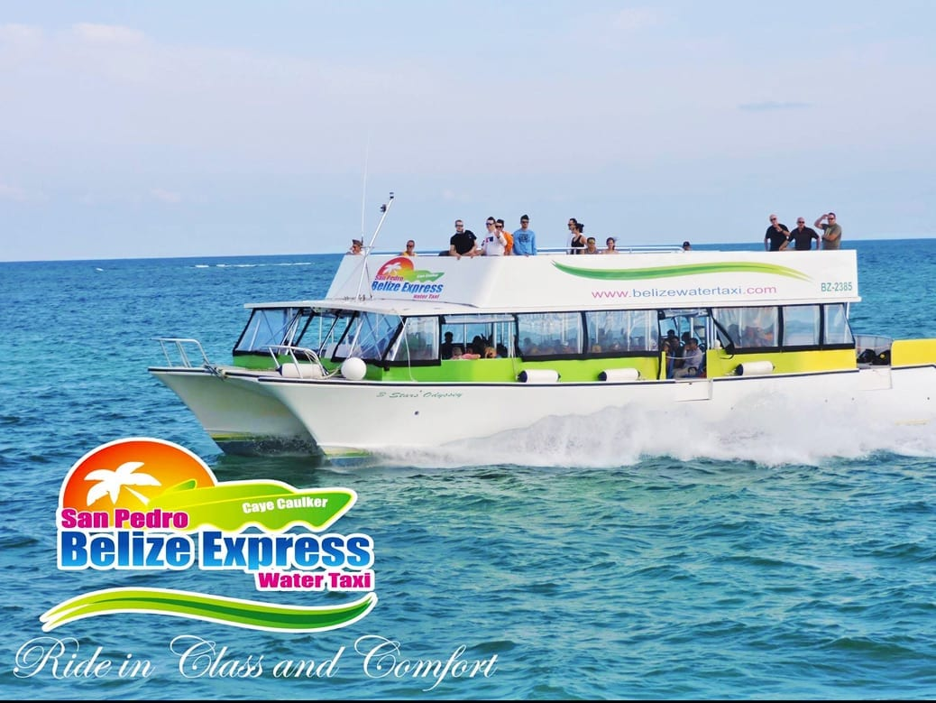 Belize City Water Taxi Shuttle
